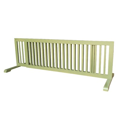 Free Standing Extra Wide Pet Gate Finish: Woodbine