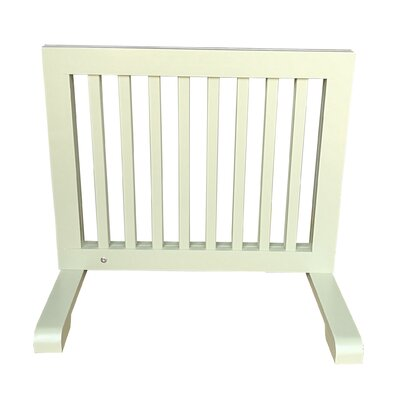 Free Standing Pet Gate Finish: Light Green
