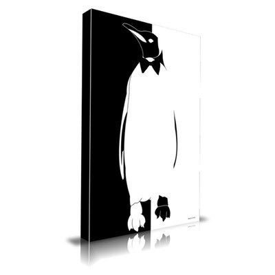 Penguin Graphic Art on Canvas Size: 20