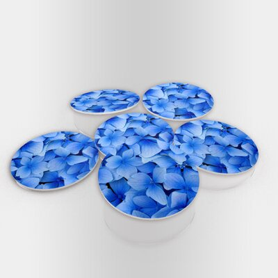 Blue Flowers Coaster BlueFlowers-Coaster