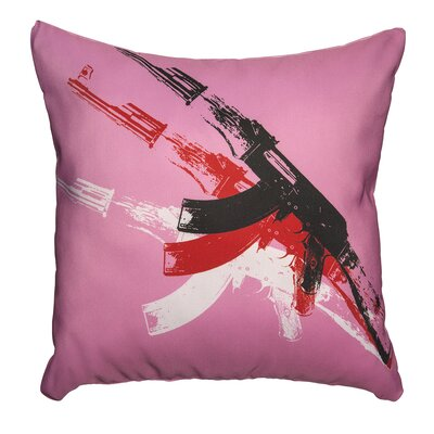 AK-47 Throw Pillow