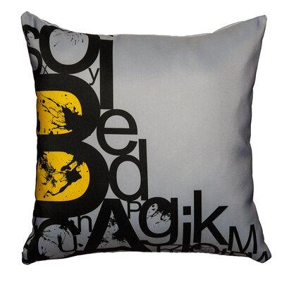 Alphabets Throw Pillow