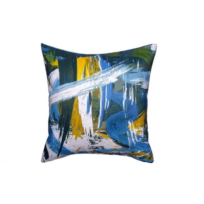 Rushing Rivers Throw Pillow