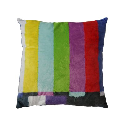 No Signal Throw Pillow