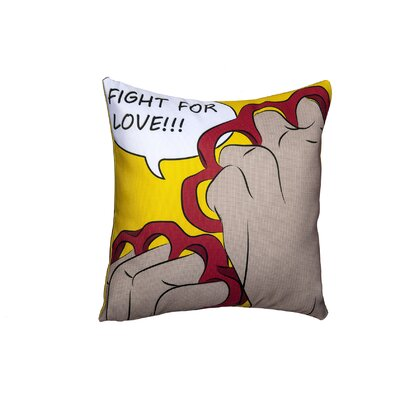 Fight For Love Throw Pillow