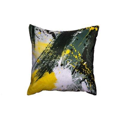 Yellow Jacket Throw Pillow