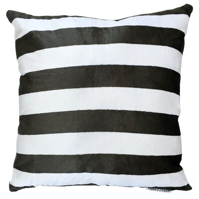 Stripes Throw Pillow Size: 18 H x 18 W x 5 D