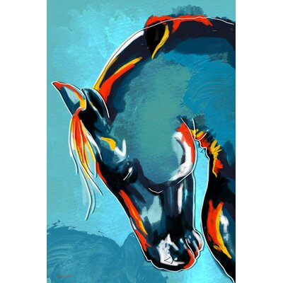"Stallion Canvas Print Size: 20"" H x 16"" W"