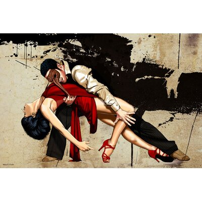 'The Dance' Graphic Art on Wrapped Canvas Size: 16