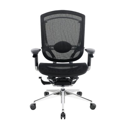 Stylish Aqua Desk Chair Headrest Included Product Photo
