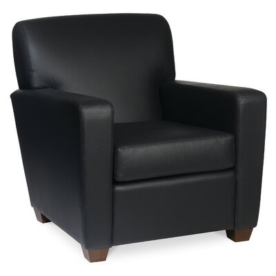Ascot Leather Lounge Chair Product Photo