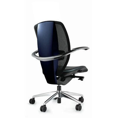 Xten Mid-Back Mesh Executive Chair Color: Silver Product Image 4666