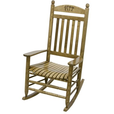 Collegiate Rocking Chair NCAA Team: Pitt image