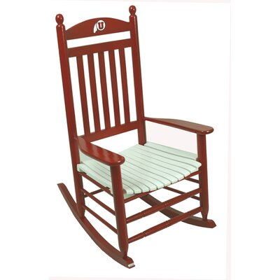 Collegiate Rocking Chair NCAA Team: University of Utah image