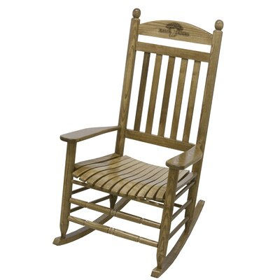 Collegiate Rocking Chair NCAA Team: University of Louisiana - Lafayette image