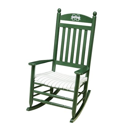 Collegiate Rocking Chair NCAA Team: Michigan State University image