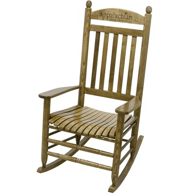 Collegiate Rocking Chair NCAA Team: Appalachian State University