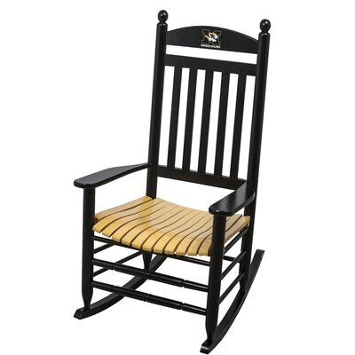 Collegiate Rocking Chair NCAA Team: University of Missouri image