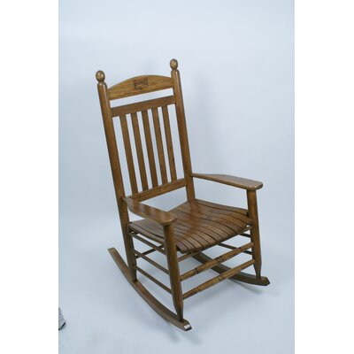 Collegiate Rocking Chair NCAA Team: University of Arkansas