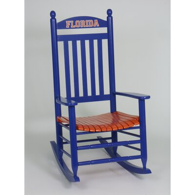 Collegiate Rocking Chair NCAA Team: University of Florida image