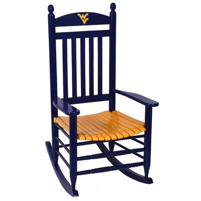 Collegiate Rocking Chair NCAA Team: West Virginia University image