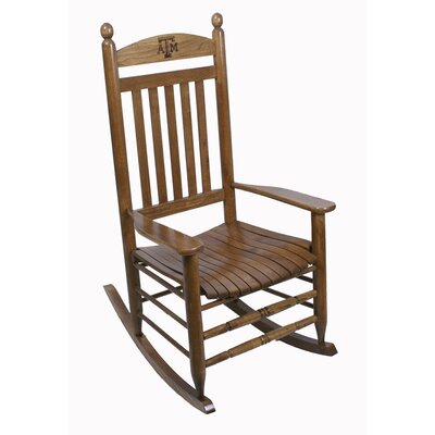 Collegiate Rocking Chair NCAA Team: Texas A & M University image
