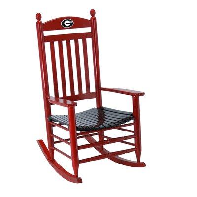 Collegiate Rocking Chair NCAA Team: University if Georgia image