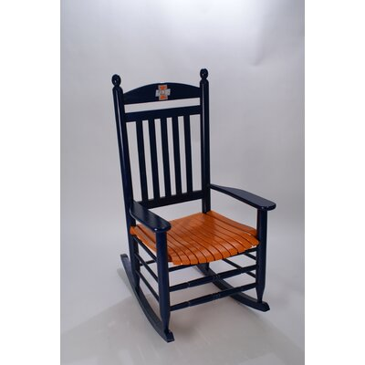 Collegiate Rocking Chair NCAA Team: University of Illinois image