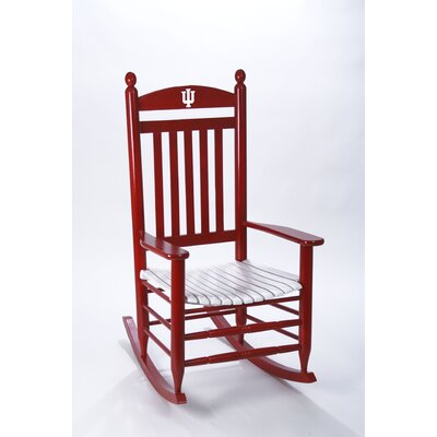 Collegiate Rocking Chair NCAA Team: Indiana University image