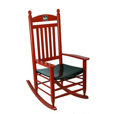 Collegiate Rocking Chair NCAA Team: University of Nebraska image
