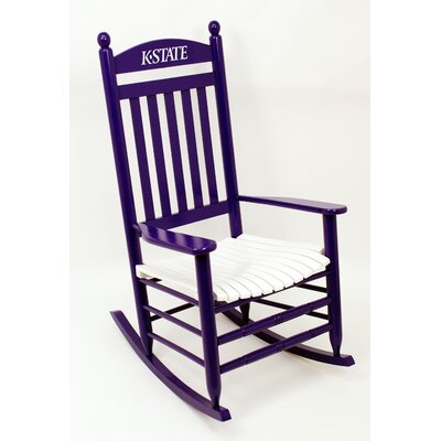 Collegiate Rocking Chair NCAA Team: Kansas State University image