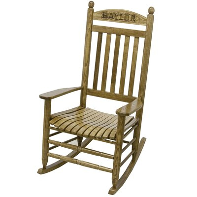 Collegiate Rocking Chair NCAA Team: Baylor University image