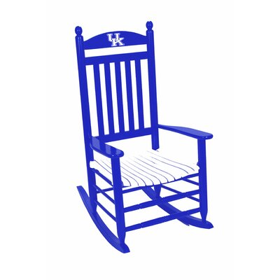 Collegiate Rocking Chair NCAA Team: University of Kentucky