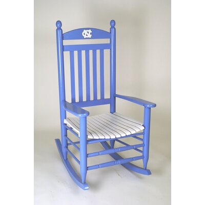 Collegiate Rocking Chair NCAA Team: University of North Carolina image