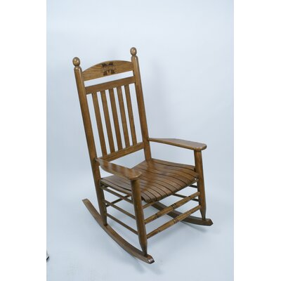 Collegiate Rocking Chair NCAA Team: Mississippi State University image
