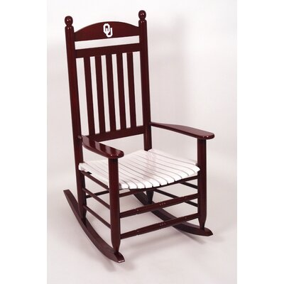 Collegiate Rocking Chair NCAA Team: University of Oklahoma