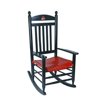 Collegiate Rocking Chair NCAA Team: University of Louisville image