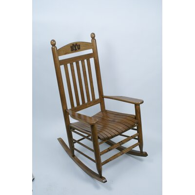 Collegiate Rocking Chair NCAA Team: BYU image