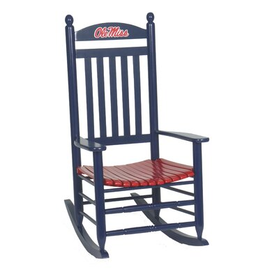 Collegiate Rocking Chair NCAA Team: Ole Miss