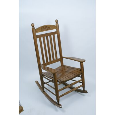 Collegiate Rocking Chair NCAA Team: Ole Miss image