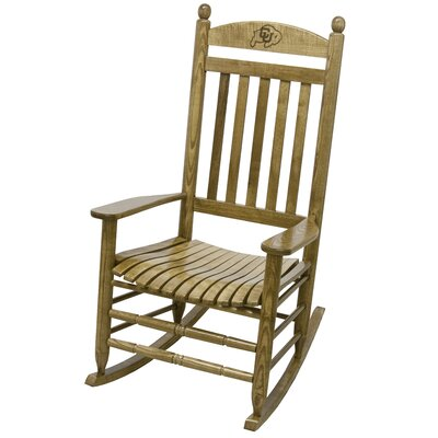 Collegiate Rocking Chair NCAA Team: University of Colorado image