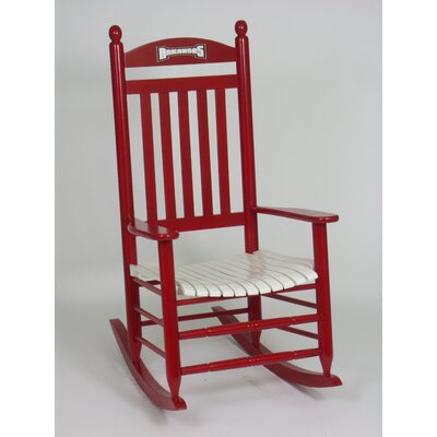 Collegiate Rocking Chair NCAA Team: University of Arkansas image