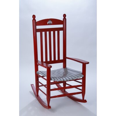Collegiate Rocking Chair NCAA Team: Ohio State University image