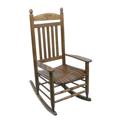Collegiate Rocking Chair NCAA Team: University of Texas image