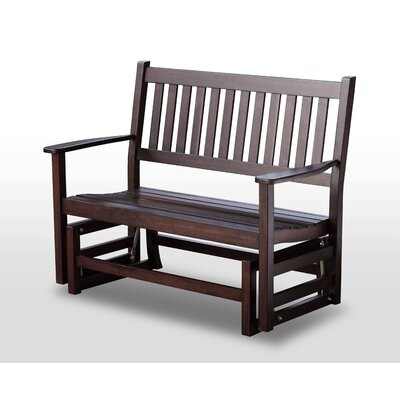 HINKLE CHAIR COMPANY Plantation Solid Hardwood Porch Bench - Finish: Mahogany, Size: 5' at Sears.com