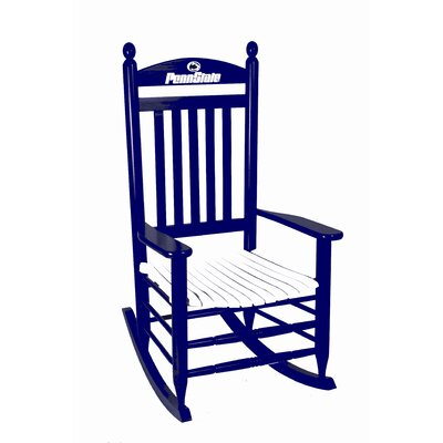 Collegiate Rocking Chair NCAA Team: Penn State University