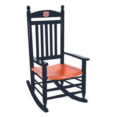 Collegiate Rocking Chair NCAA Team: Auburn University