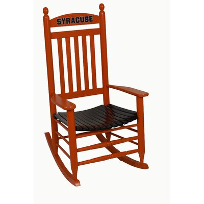 Collegiate Rocking Chair NCAA Team: Syracuse University image