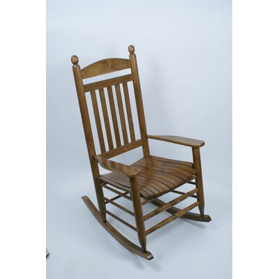Collegiate Rocking Chair NCAA Team: University of Connecticut