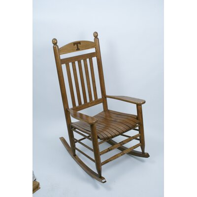 Collegiate Rocking Chair NCAA Team: University of Tennessee